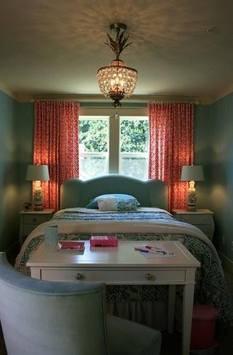 blue big girl room.