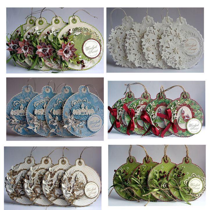 Beautiful paper ornaments