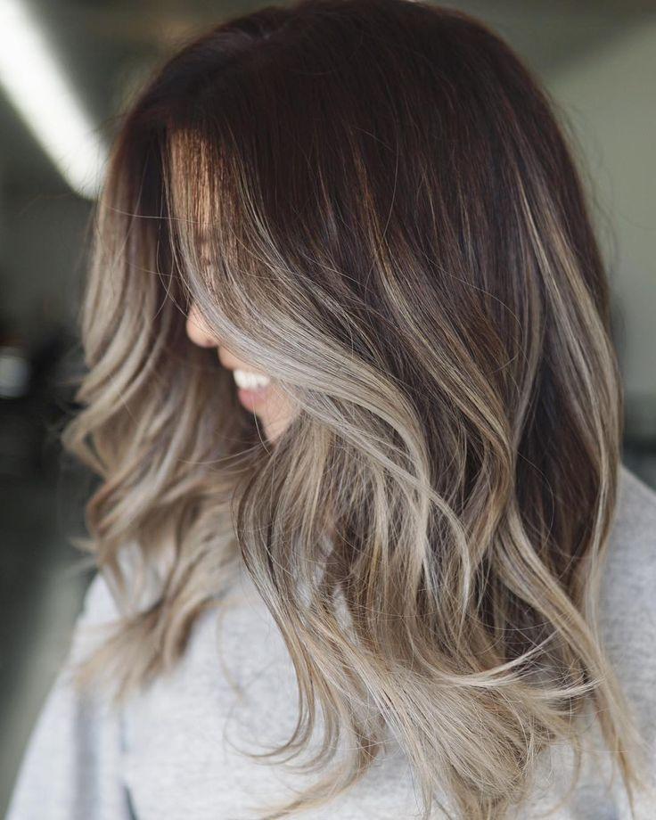 """Frances Canola on Instagram: """"🌸 beige blonde Ombré/ balayage 🌸 . @kenraprofessional Simply blonde & @brazilianbondbuilder #b3 . Toner formula: equal parts Rapid tone SV…"""""""