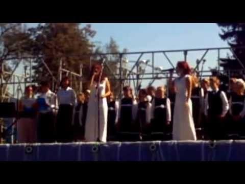 """Благотворительная акция """"Белый цветок"""" в Курске - YouTube"""