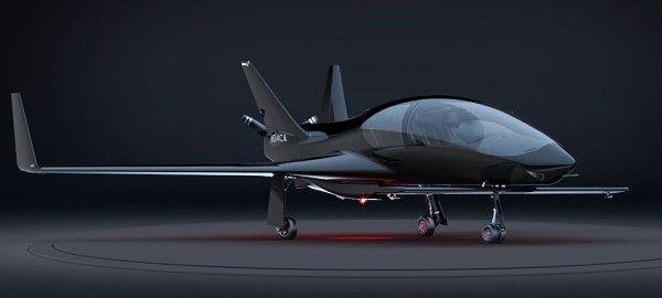 En vídeo Valkyrie un precioso avión de lujo para 5 pasajeros