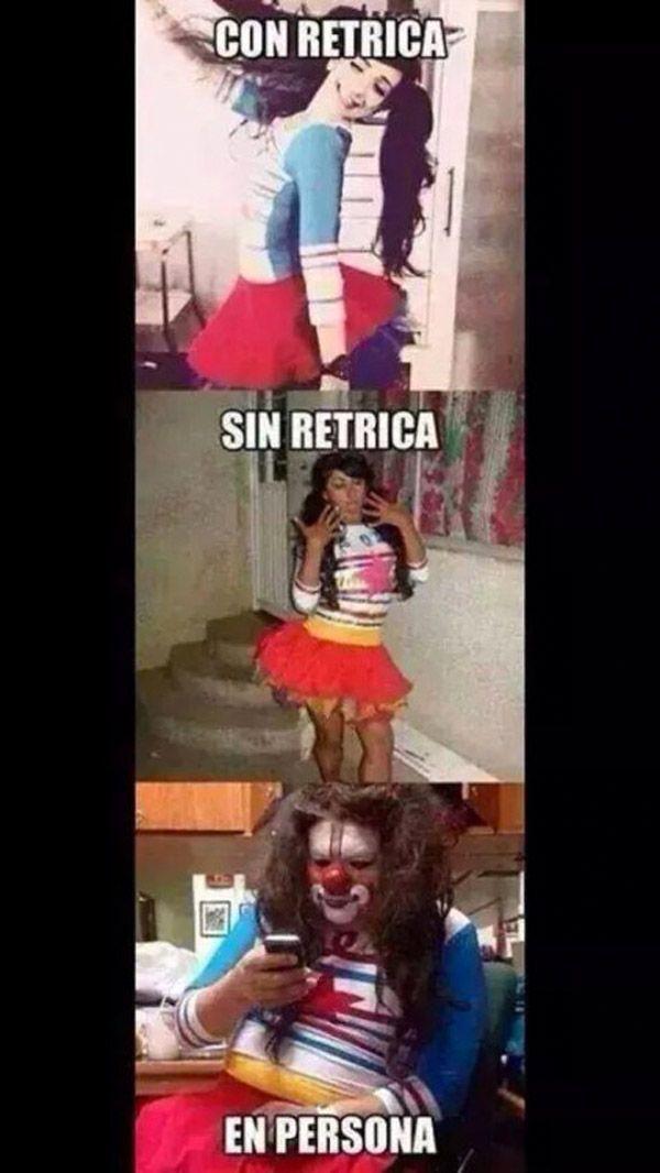 Con Retrica y sin Retrica. #humor #risa #graciosas #chistosas #divertidas