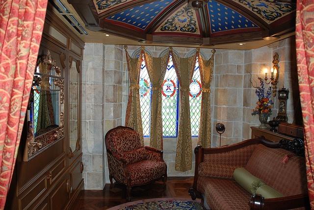 Cinderella Suite - Lounge by shadowstorm, via Flickr
