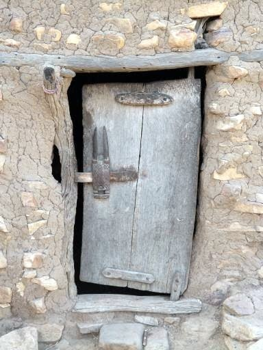 Africa | A Dogon door. Mali