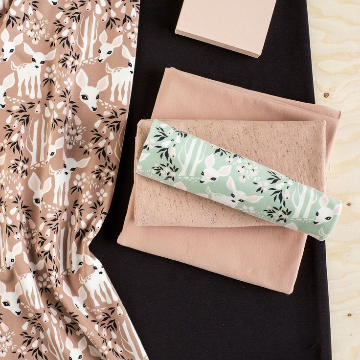 KATSE, Rose - Light Pink | Nosh.fi ENGLISH  | Get inspired by new NOSH fabrics for Summer 2017! Discover new colors and prints in quality organic cotton. Shop new fabrics at en.nosh.fi
