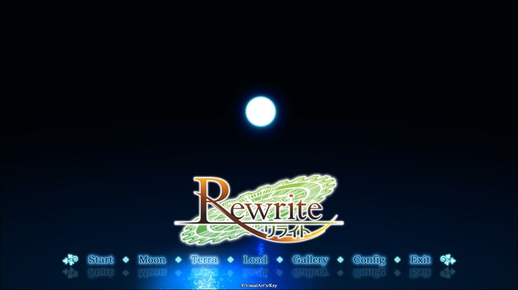 Rewrite - Terra Route Start