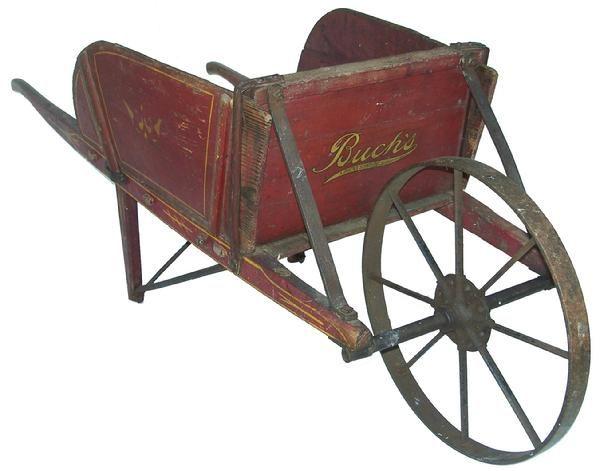 Antique Wheelbarrel