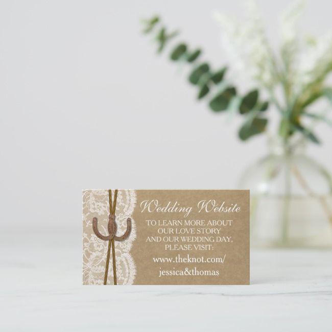 Create Your Own Enclosure Card Zazzle Com Wedding Enclosure Cards Wedding Website Card Wedding Website
