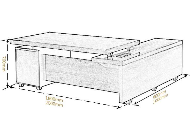 Standard Office Desk Size - 1500+ Trend Home Design - 1500 ... |Office Standard Desk Size