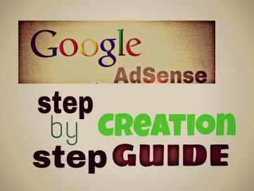 Google Adsense account creation guide