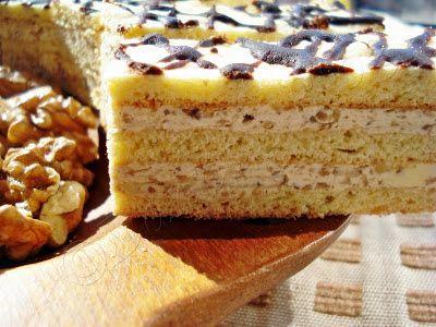 Danna's Blog: Prajitura cu crema de nuca