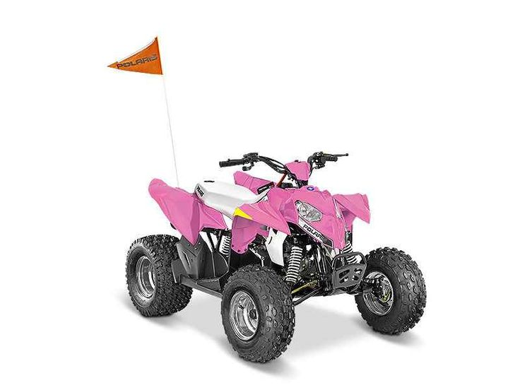 New 2016 Polaris Outlaw 50 Pink Power ATVs For Sale in Georgia. 2016 Polaris Outlaw 50 Pink Power, 2016 Polaris® Outlaw® 50 Pink Power Youth Features Standard Safety Features Includes 1 youth helmet, daytime running lights, and a safety whip flag as standard equipment.