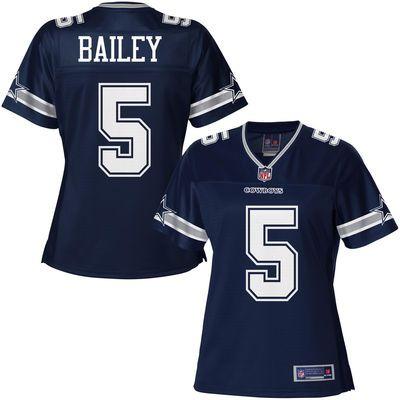 Pro Line Women's Dallas Cowboys Dan Bailey Team Color Jersey Size: SM