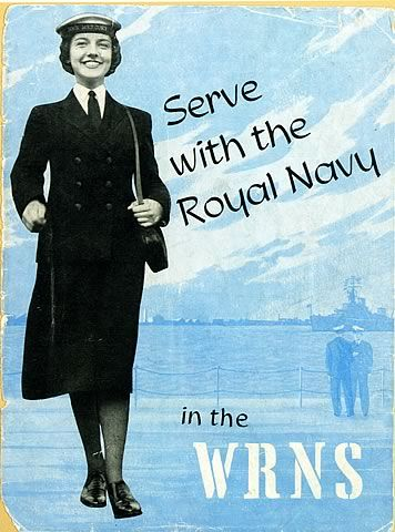 Serve with the Royal Navy in the WRNS - A Women's Royal Naval Service recruitment brochure, published in 1960, entitled 'Serve with the Royal Navy in the WRNS'.