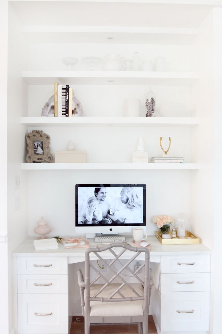 Best 25+ White office ideas on Pinterest | White office decor, White desk  office and Home office