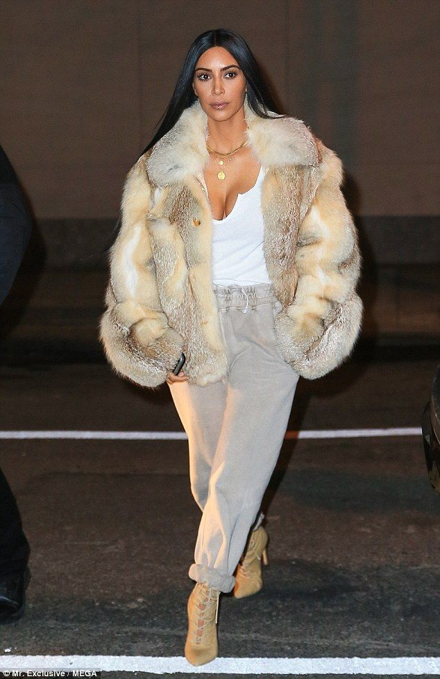 Back stateside! Kim Kardashian just returned from a whirlwind three-day tour of Dubai and didn't show any signs of jet lag as she was spotted out and about in New York City on Monday