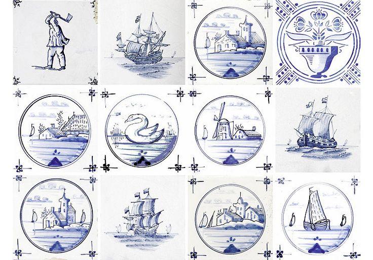 Home affaire Stickerfliesen »maritim«, 12x 15/15 cm