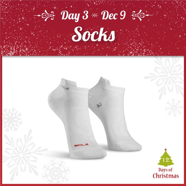 Looking for some new socks? We have a variety!  Check out our selection of athletic, compression and diabetic socks @ 20% OFF!  Come visit us in-store or grab them here: http://kint.ec/Day3Socks  USE CODE: XMAS3