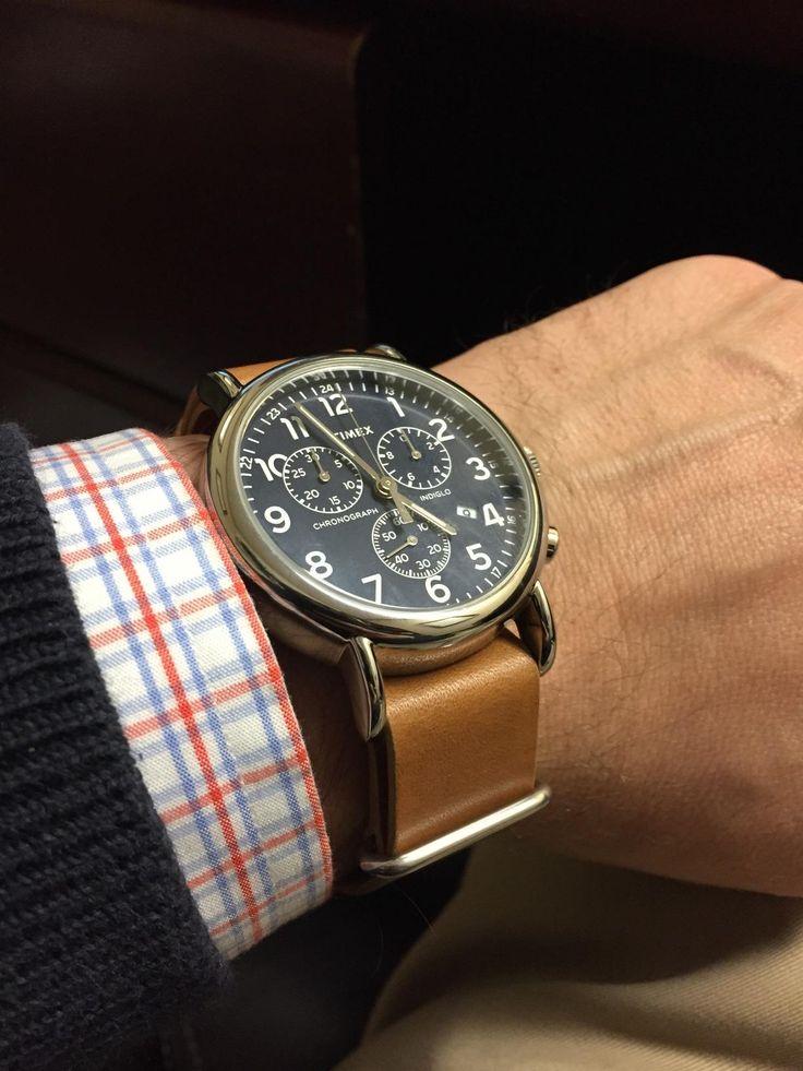 Amazon.com: Timex Unisex TW2P623009J Weekender Forty Analog Display Analog Quartz Brown Watch: Timex: Clothing