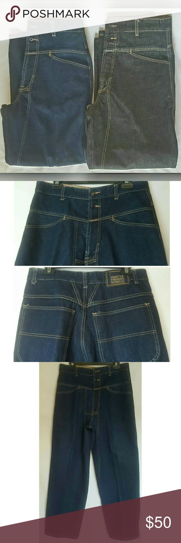"""Men's Girbaud Jeans Both pair of Men's Girbaud Jeans are included in sale - Size 32S - Inseam 29"""" - Excellent Condition - 100% Cotton -  ALL OFFERS CONSIDERED Girbaud Jeans Relaxed"""