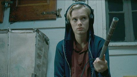 Innkeepers (2011) directed by Ti West and starring Sara Paxton.