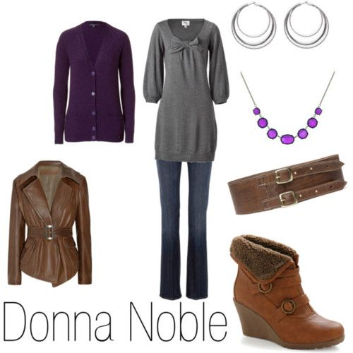 How to dress like Donna Noble