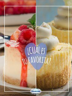 Tenemos dos deliciosos postres para compartir contigo. ¿Cuál se te antoja más?
