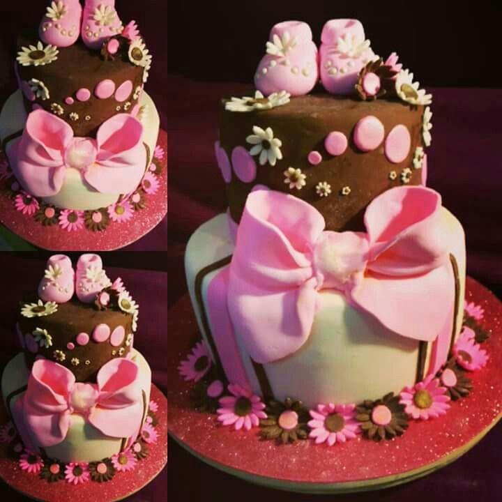 Baby Shower niña cakes