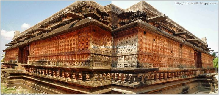 The Shankha basadi built in the seventh century A D is the oldest Jain shrine here. The temple received continuous patronage from the Badami Chalukya kings from Pulakesi II to Vikramaditya II. The god is referred as Sankha-Jinendra in an inscription of the Badami Chalukya king Pulakesi II (610-642 CE).