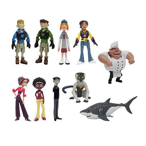 PBS Wild Kratts Heroes & Villians 10 Pack Gift Set Aviva Gourmand Shark Lemur in Toys & Hobbies, TV, Movie & Character Toys, Other TV/Movie Character Toys | eBay