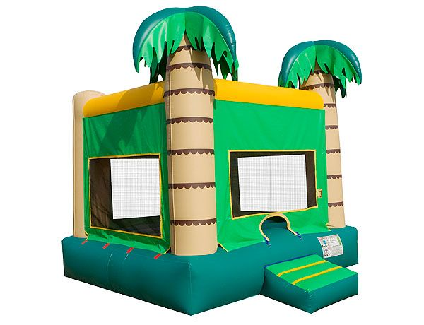 Palm Tree Bounce Houses Palm Tree   Palm Tree beach theme adult bounce house to rent