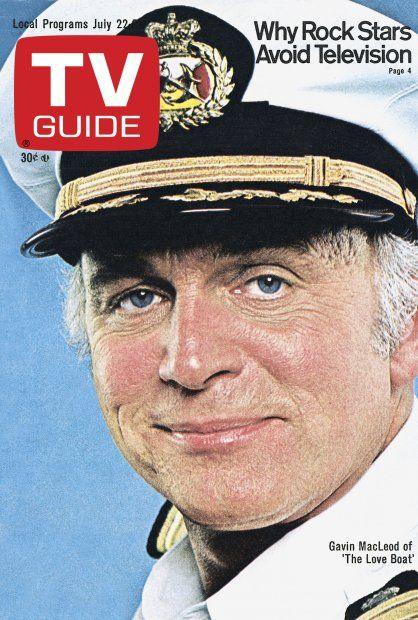 TV Guide July 22, 1978 - Gavin MacLeod of The Love Boat.