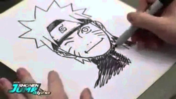 Menggambar Kartun Naruto, cara menggambar kartun, tips menggambar kartun anak, Naruto adalah sebuah serial manga karya Masashi Kishimoto Menggambar yang diad...