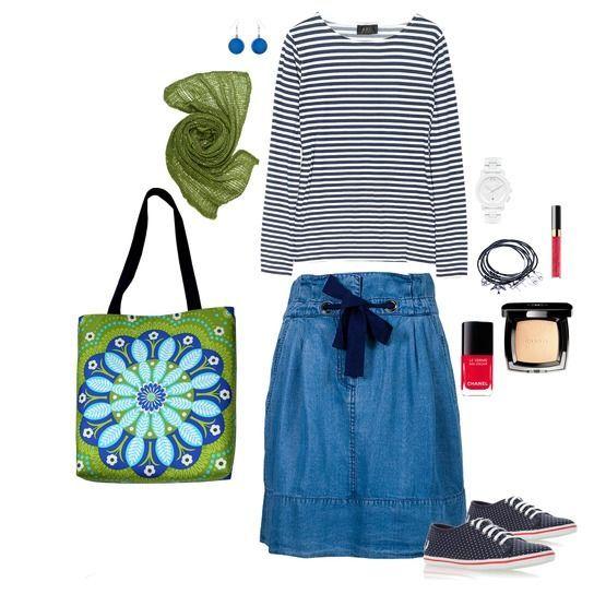 picnic  my ethnic cotton bag