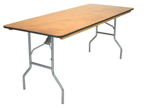 30x96 8ft Plywood Banquet Table Entertaining Banquet