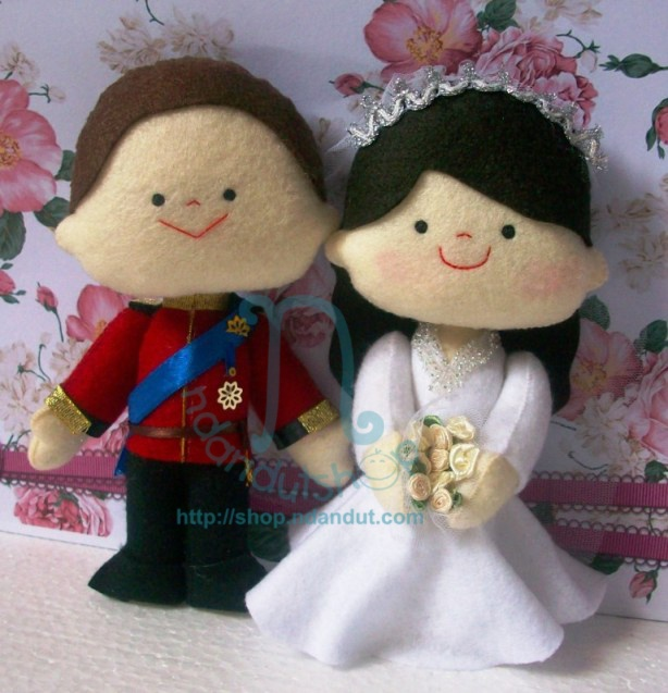 royal wedding doll