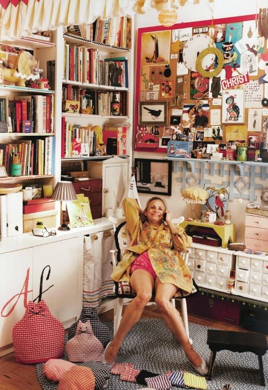 Amy Sedaris's home - love her!