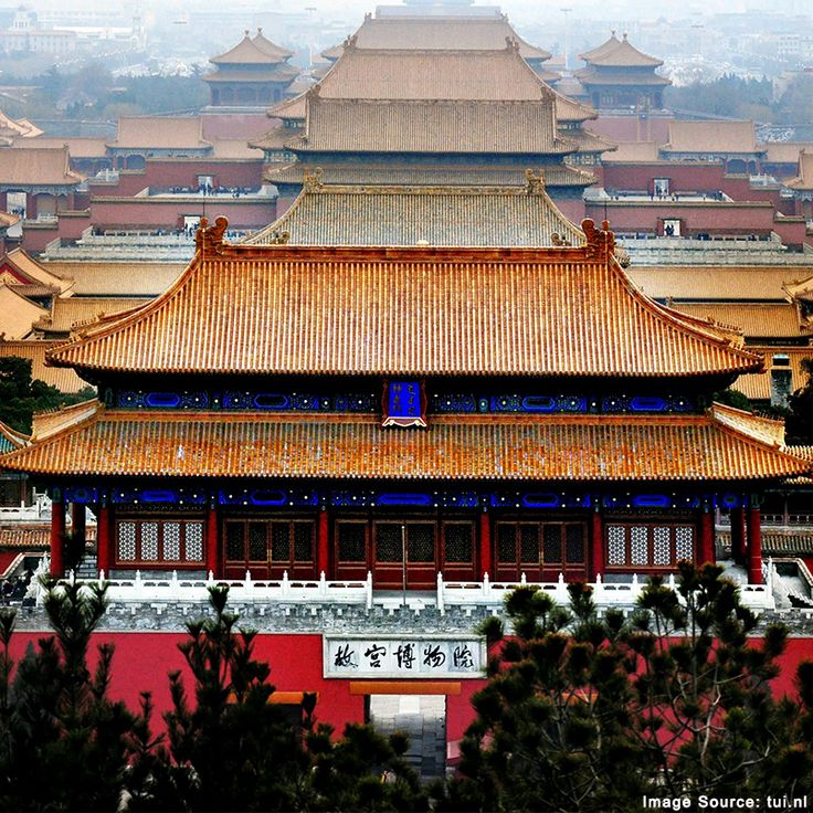 A Chinese imperial palace from the Ming dynasty to the end of the Quing dynasty is none other than the Forbidden city located in the center of #Beijing.