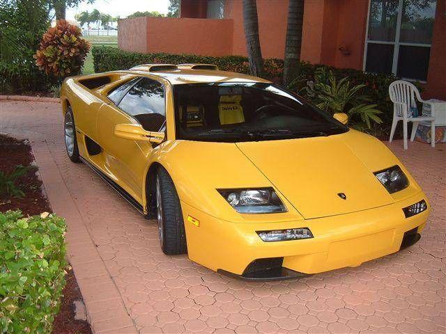 2001 Lamborghini Diablo 6.0 http://www.iseecars.com/used-cars/used-lamborghini-for-sale