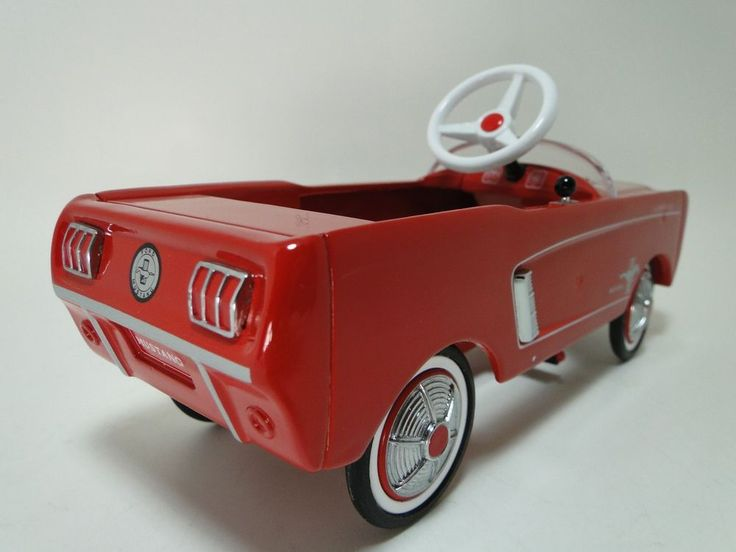1964 Mustang Ford Pedal Car Custom Midget Hot Rod Metal Show Model 1 24 T A 124