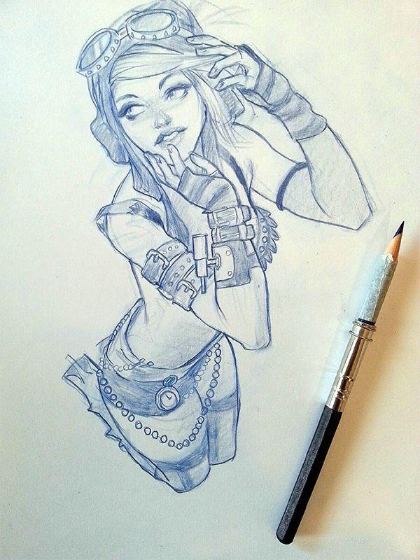 skate girl tumblr dibujo - Buscar con Google