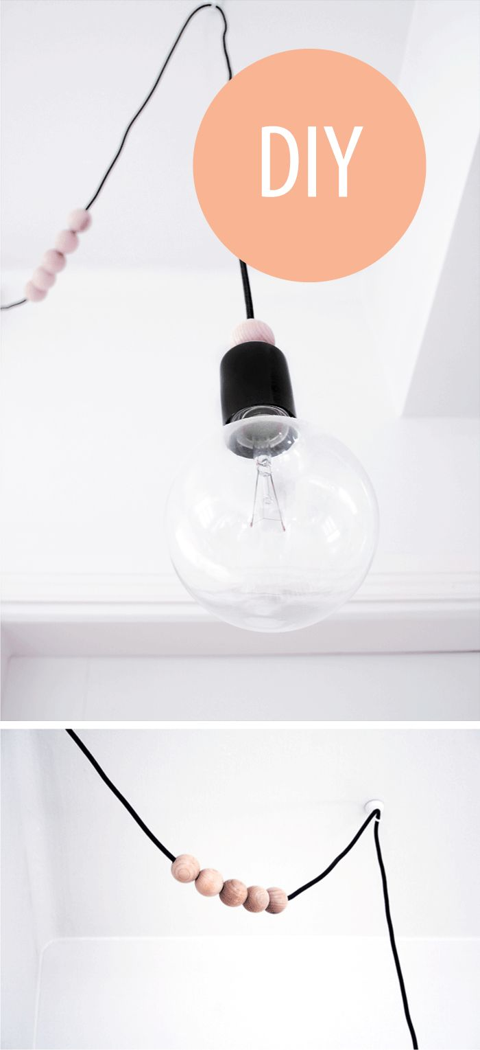 DIY lamp | Photo: Marja Wickman