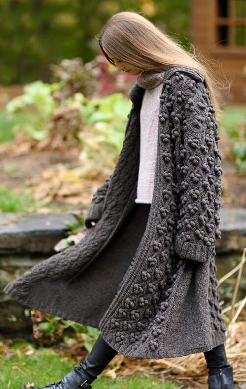 Cisa Sweater & Cerro Coat HANIA by Anya Cole Fall 2016