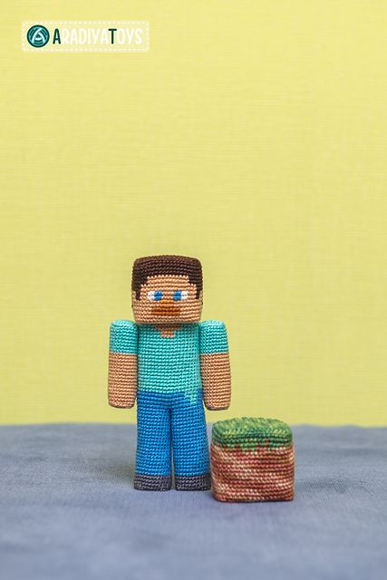 10 Awesome Minecraft Makes - crochet patterns                                                                                                                                                                                 More