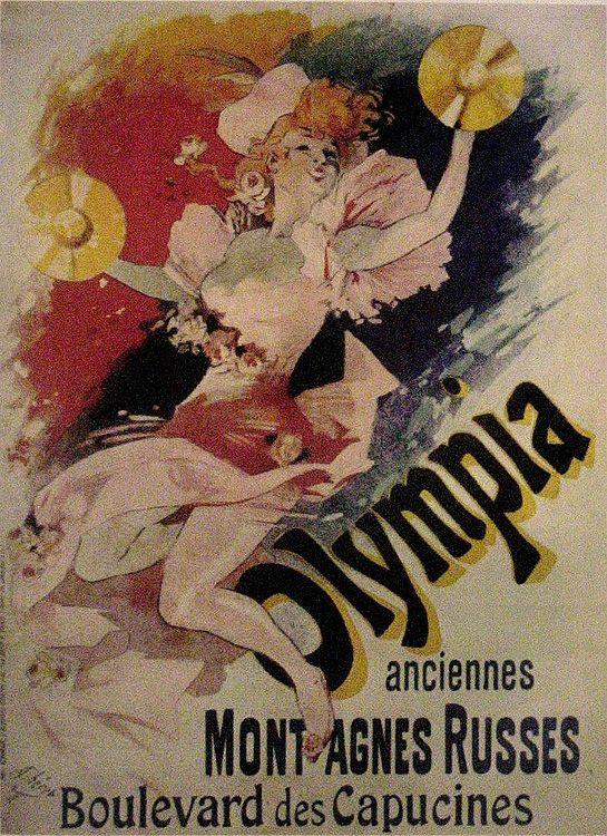 The posters of Henri de Toulouse Lautrec (1864 - 1901)