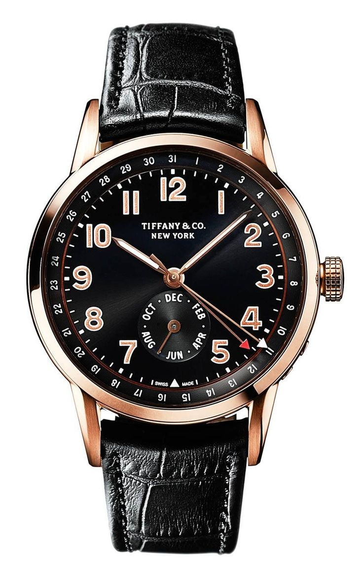 Tiffany and Co. CT60 Chronograph and Annual Calendar Watches In New Gold Options For 2016
