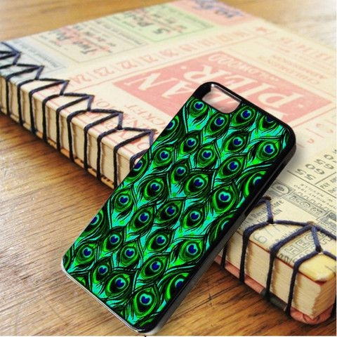 Green Pattern Feather Peacock iPhone 6|iPhone 6S Case