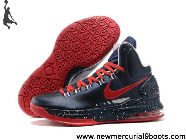 Sale Discount 554988 100 Nike Zoom KD V Navy Red Fashion Shoes Store � Lebron  11Nike ...