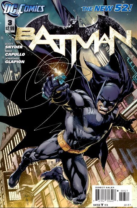 Alternate Cover to New 52 Issue 3 The Thirteenth... - New 52 Batman