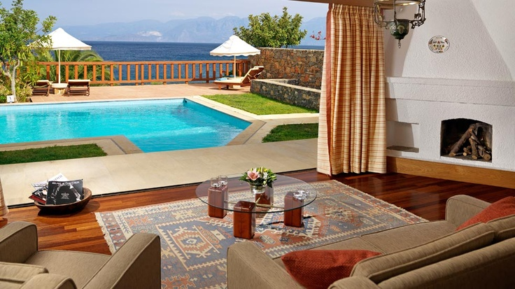 Elounda Mare - King Minos Royalty Suite with private pool